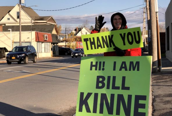Bill Kinne thanks voters for electing him Nov. 5, 2019